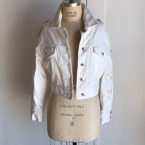 laurel by escada bomber jacket